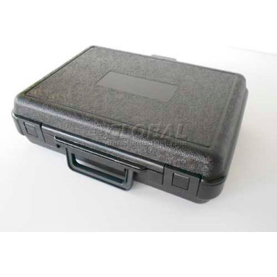 """Plastic Protective Storage Cases with Pinch Tear Foam, 13-1/2""""x10""""x3-3/4"""", Black"""