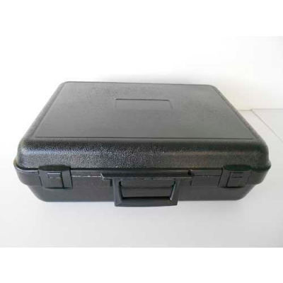"""Plastic Protective Storage Cases with Pinch Tear Foam, 19""""x14""""x6"""", Black"""