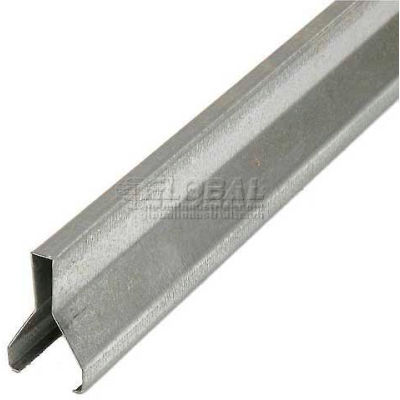 """48"""" Guide Rail with Clips for Gravity Flow Racks"""