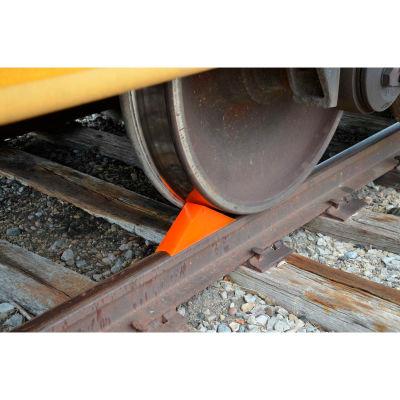 Magnetic Railroad Rail Car Wheel Chock RC-WC
