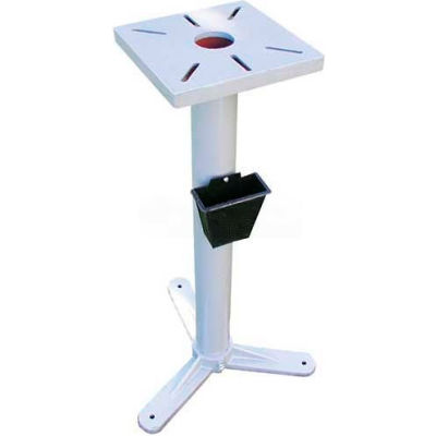 """Pedestal Stand for Bench Grinders, 9-3/4"""" Square Mounting Surface"""