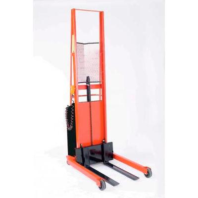 "Wesco® Battery Powered Lift Truck 261033 1000 Lb. 76""H Straddle 30"" Forks"