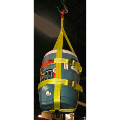 Lift-All® CSH10 Hook-Top 3, 5 & 10 Gallon Water Cooler Sling 500 Lb. Cap.