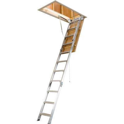 "Werner Aluminum Attic Ladder 25""W x 12' - AH2512"