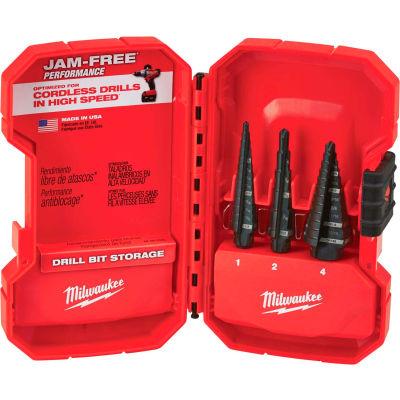 Milwaukee® 48-89-9221 Step Drill Bit Set