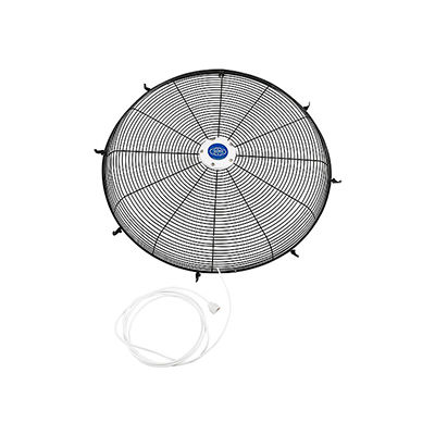 """Front Fan Grille With Misting Feature For 24"""" Pedestal and Wall Mounted Fan"""
