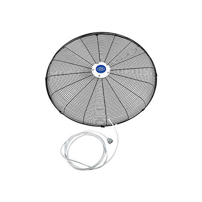 """Global Industrial™ Front Fan Grille With Misting Feature For 30"""" Pedestal and Wall Mounted Fan"""