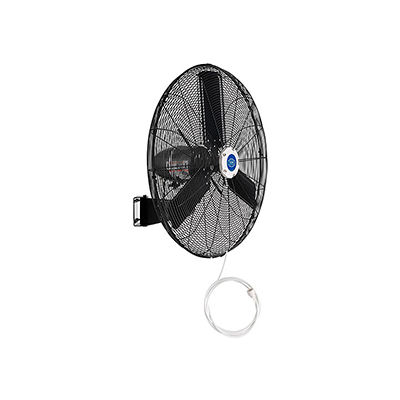 """30"""" Wall Mounted Misting Fan - Outdoor Rated - Oscillating  - 8400 CFM - 3/10 HP"""