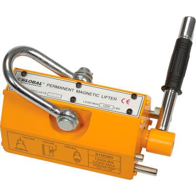 Global Industrial™ Lifting Magnet 1200lb. Capacity