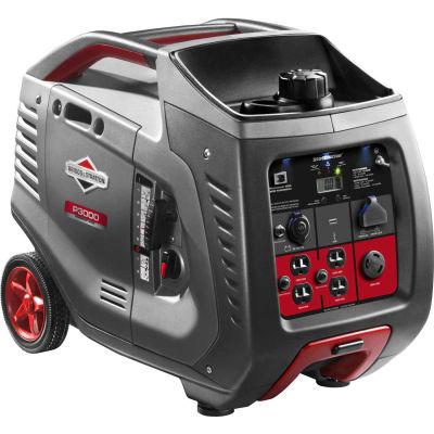 Briggs & Stratton® 030545, 2600 Watts, Inverter Generator, Gasoline, Recoil Start, 120V