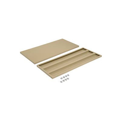 """Additional Shelves for 48""""W x 18""""D Storage Cabinet - Tan"""