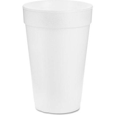 Dart® Foam Cups Hot/Cold Cups, 14 Oz., 1,000/Carton, White