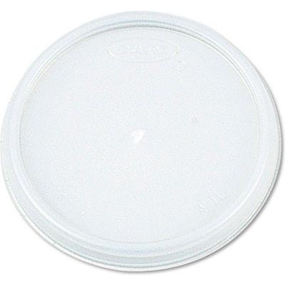 Dart® DCC6JL, Plastic Lids for Hot/Cold Foam Cups, White, 1000/Carton