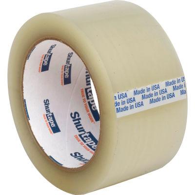 "Shurtape® HP 200 EZ Production Grade Hot Melt Packaging Tape 2"" x 110 Yds. 1.8 Mil Clear - Pkg Qty 36"