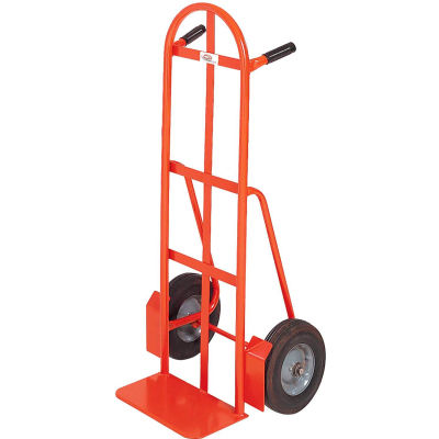 Modern Equipment MECO 282SP Curved Double Handle Hand Truck Semi-Pneumatic 500 Lb.