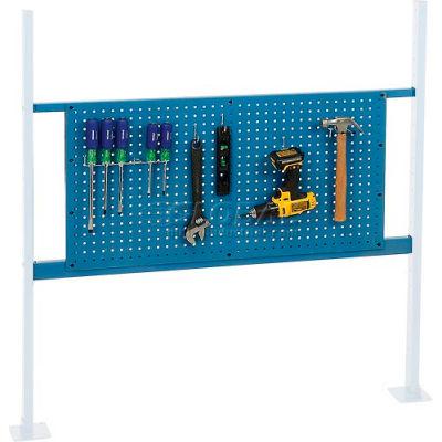 "Global Industrial™ 36"" Pegboard Panel Kit, 48""W, Blue"