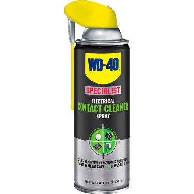 WD-40® Specialist® Electrical Contact Cleaner Spray - 11 oz. Aerosol Can - 300080 - Pkg Qty 6