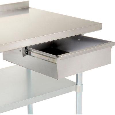 "Nexel Stainless Steel Drawer, 15""W x 20""D"