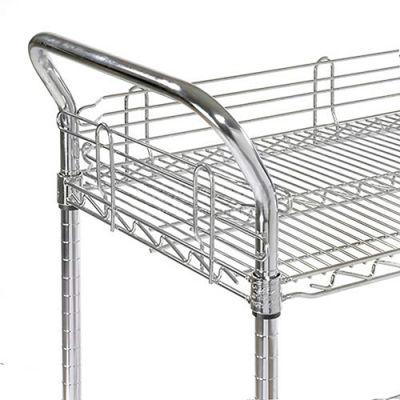 "Nexel® AH24EP Nexelate® Utility Cart Handle 24"" (Priced Each, In A Package Of 2) - Pkg Qty 2"