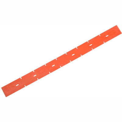 """Global Industrial™ Replacement Polyurethane Rear Squeegee Blade for 17"""" Scrubber"""