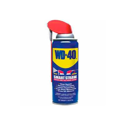 WD-40® Multi-Use Aerosol Lubricant - 11 oz. Smart Straw Aerosol Can - 110078/490040 - Pkg Qty 12