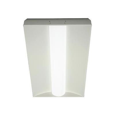 Global Industrial™ Center Basket LED Recessed Troffer, 50W, 5500 Lumens,85 CRI,Dimmable, 2'x4'