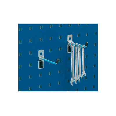 "Bott 14001102 Single Straight Hooks For Perfo Panels - Package of 5 - 1""L"
