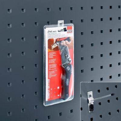 """Bott 14001110 Angled Peg Hooks For Perfo Panels - Package of 5 - 1""""L"""