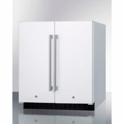 Frost-Free Refrigerator-Freezer, White,  5.4 Cu. Ft. Capacity