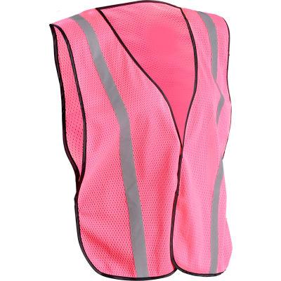 OccuNomix Value Mesh Ladies Vest LUX-XSBML-PXL, Pink, XL