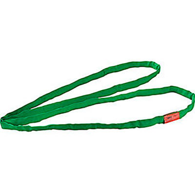 Global Industrial™Polyester Round Sling, Endless, 8 ft. x 1.25 in,5300/4200/1060  Lbs Cap