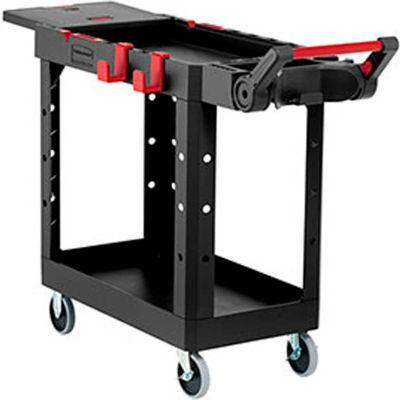 Rubbermaid HD Adaptable Utility Cart SM Black