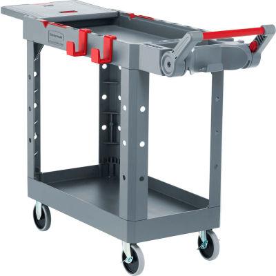 Rubbermaid HD Adaptable Utility Cart SM Gray