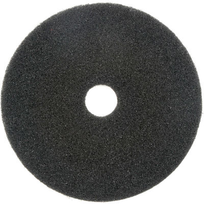 "Global Industrial™ 18"" Black Stripping Pad - 5 Per Case"