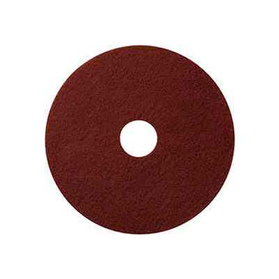 "Global Industrial™ 18"" Maroon EcoPrep ""EPP"" Chemical Free Stripping Pad - 10 Per Case"