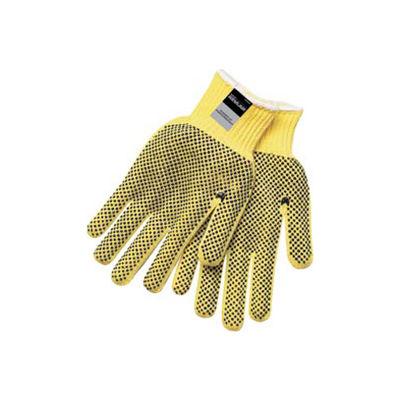 Kevlar® Two-Sided PVC Dots Gloves, MCR Safety, Medium, 9366M, 1-Pair
