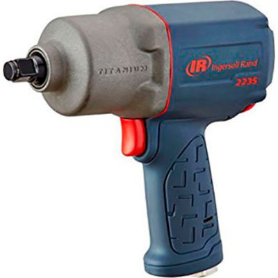 """Ingersoll Rand Drive Air Impact Wrench, 1/2"""" Drive Size, 930 Max Torque"""