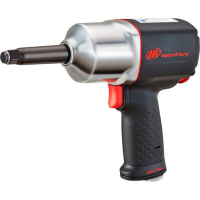 """Ingersoll Rand 2135QXPA-2 1/2"""" Quiet Air Impact Wrench with 2"""" Extended Anvil"""