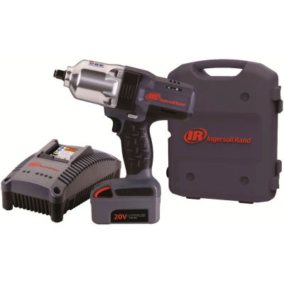 "Ingersoll Rand W7150-K1 1/2"" 20V Hi-Torque Cordless Impact Wrench Kit 1 Battery 3.0Ah"