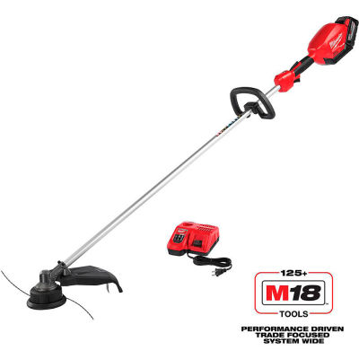 """Milwaukee® 2725-21HD M18™ 18V 16"""" Cordless String Trimmer Kit W/ 9.0Ah Battery & Charger"""
