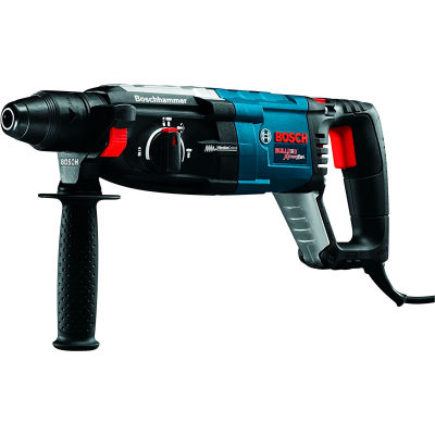 "BOSCH GBH2-28L 8.5 Corded 1-1/8"" SDS-Plus Variable Speed Rotary Hammer Drill Bulldog Xtreme Max"