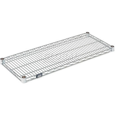 "Nexel® S1272C Chrome Wire Shelf 72""W x 12""D"