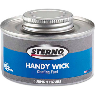 Sterno STE10364 - Chafing Fuel Can, Twist Cap Wick, 4 Hour Burn, 24/Carton