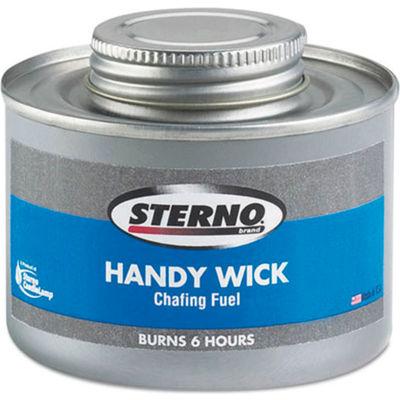 Handy Wick Chafing Fuel Can, Twist Cap Wick, 6 Hour Burn , 8 oz., 24/Carton