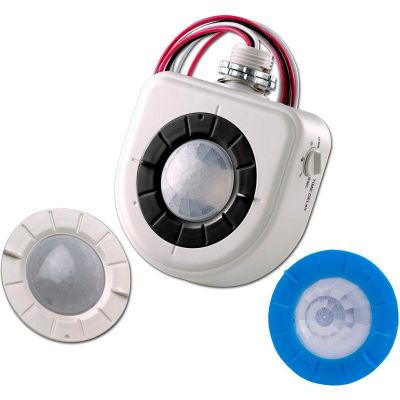 Levition OSFHU-ITW High-Bay Fixture Mount Motion Sensor, Height & Aisle Lenses, PIR Tech, 120-347V