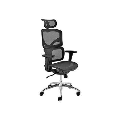 Interion® All Mesh Premium Chair, Black