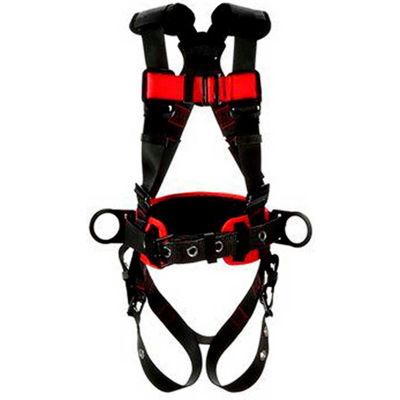 3M™ Protecta® 1161310 Construction Positioning Harness, Tongue & Pass-Thru Buckle, XL