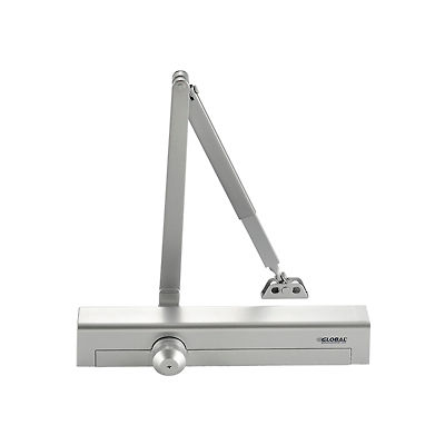Aluminum Door Closer - Heavy Duty, Manual, Hydraulic, For Internal and External Use.