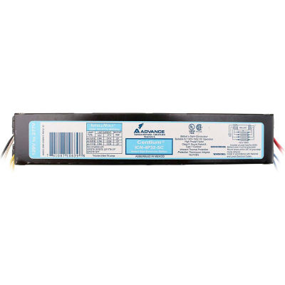 Philips Advance ICN4P32N Electronic T8 Ballast, Instant Start, 4 or 3- 32W T8 Lamps, .88 BF