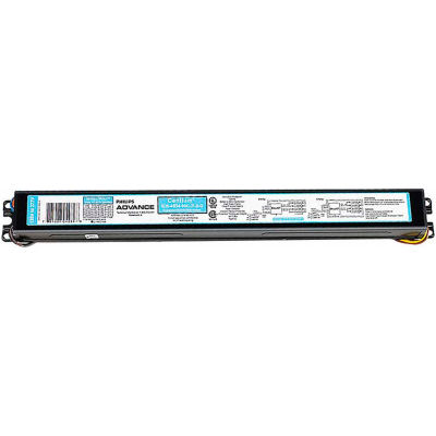 Philips Advance ICN4S54-90C-2LSG Elect. Ballast, 4- 54W T5HO Lamps, Programmed Start,1.0 BF, 120-277